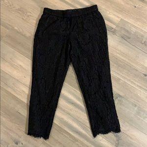 JCrew Lace pants